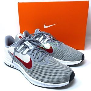 Nike Downshifter 9 Wolf Grey Canvas Men's Sneakers